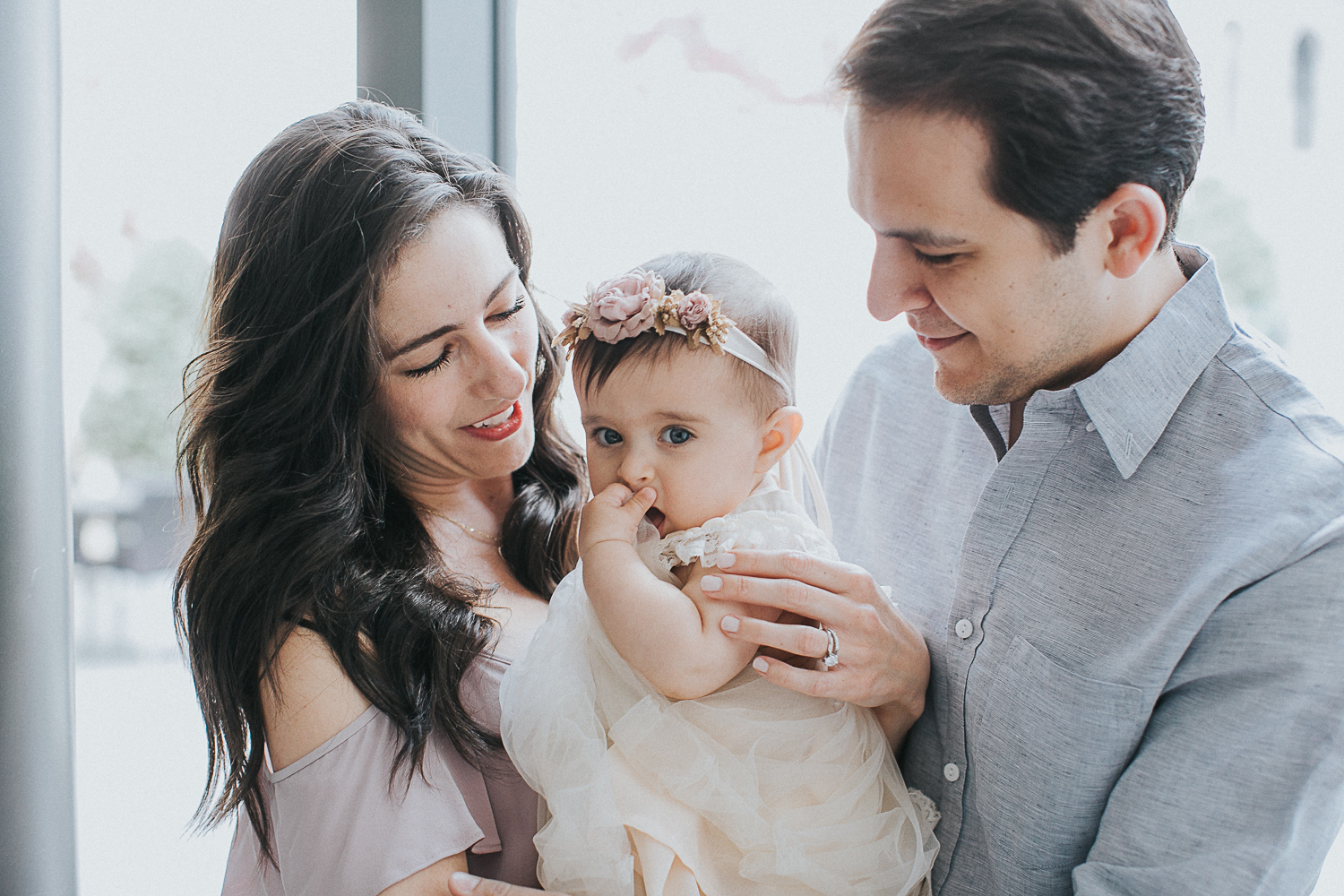 laughter-filled Manhattan Family Portrait session