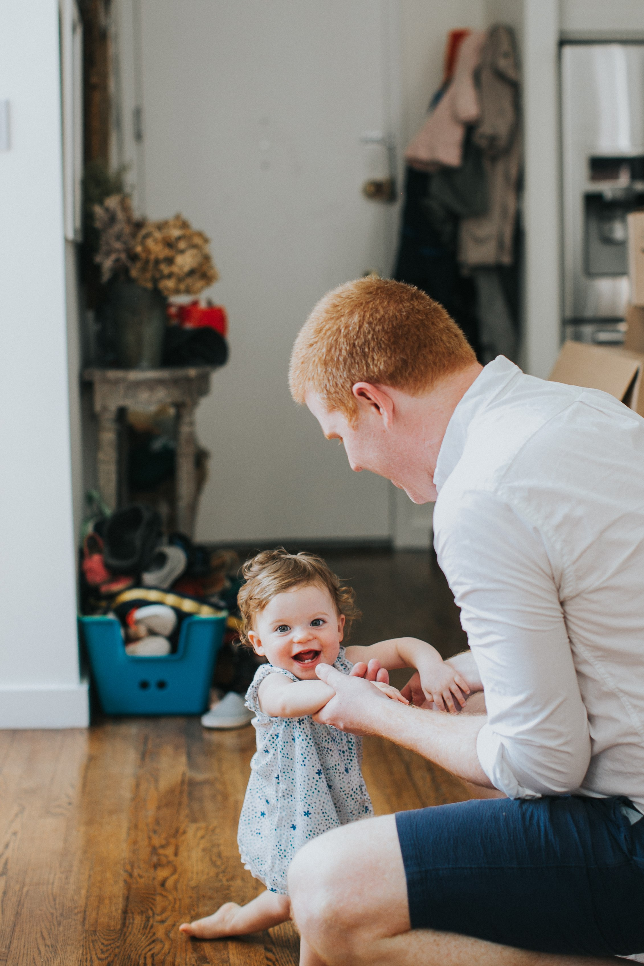 Bright and Cheerful Brooklyn Heights Family Session